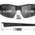 Αθλητικά Γυαλιά για Ποδηλασία & Τρέξιμο Tifosi Synapse Gloss Black με Φωτοχρωμικούς Φακούς