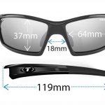 Αθλητικά Γυαλιά Ηλίου Tifosi Camrock Gloss Black με Φακούς Polarized