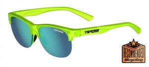 Αθλητικά Γυαλιά Ηλίου Tifosi Swank SL Satin Electric Green με Φακούς Sky Blue