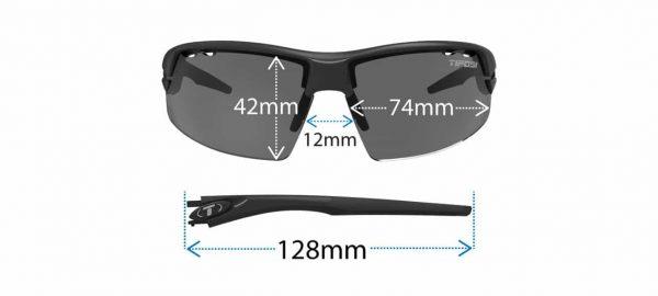 Αθλητικά Γυαλιά Ποδηλασίας & Τρεξίματος Tifosi Crit Skycloud Clarion με Τρεις Διαφορετικούς Φακούς