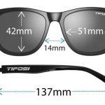 Αθλητικά Γυαλιά Ηλίου Tifosi Swank Satin Black με Polarized Φακούς