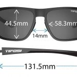 Αθλητικά Γυαλιά Ηλίου Tifosi Swick Crystal Clear με Φακούς Smoke Yellow