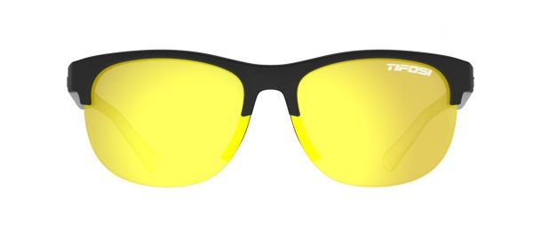 Αθλητικά Γυαλιά Ηλίου Tifosi Swank SL Satin Black Clear με Φακούς Smoke Yellow
