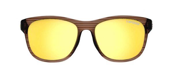 Αθλητικά Γυαλιά Ηλίου Tifosi Swank Woodgrain με Φακούς Smoke Yellow