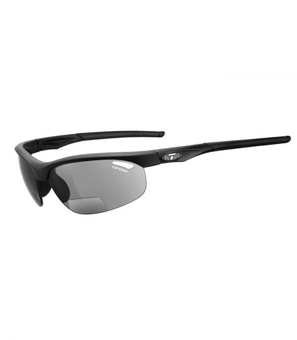 Αθλητικά Γυαλιά για Τρέξιμο & Ποδηλασία Tifosi Veloce Matte Black Reader με Διεστιακούς Φακούς Ανάγνωσης +1.5