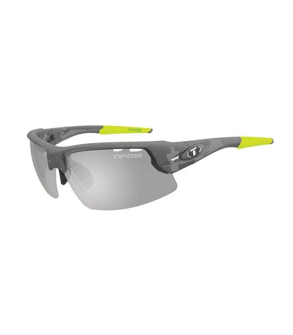 Αθλητικά Γυαλιά Ποδηλασίας & Τρεξίματος Tifosi Crit Matte Smoke με Φωτοχρωμικούς Φακούς Fototec