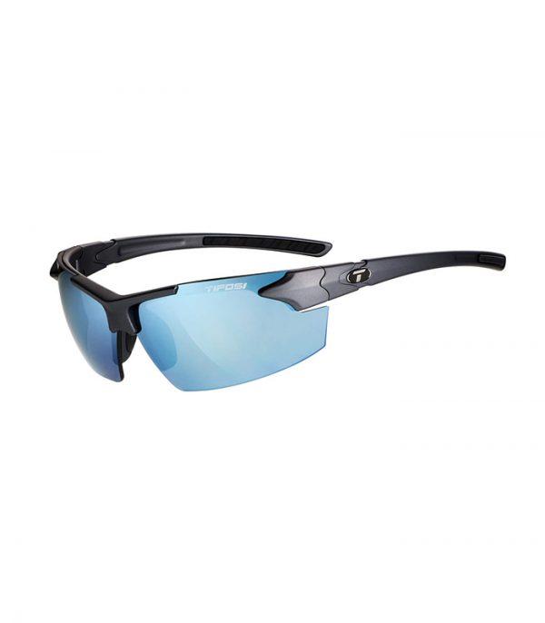 Αθλητικά Γυαλιά Ηλίου Tifosi Jet FC Matte Gunmetal με Φακούς Smoke Bright Blue