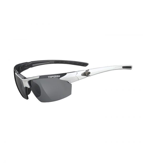 Αθλητικά Γυαλιά Ηλίου Tifosi Jet White Gunmetal με Φακούς Smoke
