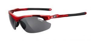 Αθλητικά Γυαλιά για Τρέξιμο & Ποδηλασία Tifosi Tyrant 2.0 Metallic Red με Τρεις Διαφορετικούς Φακούς