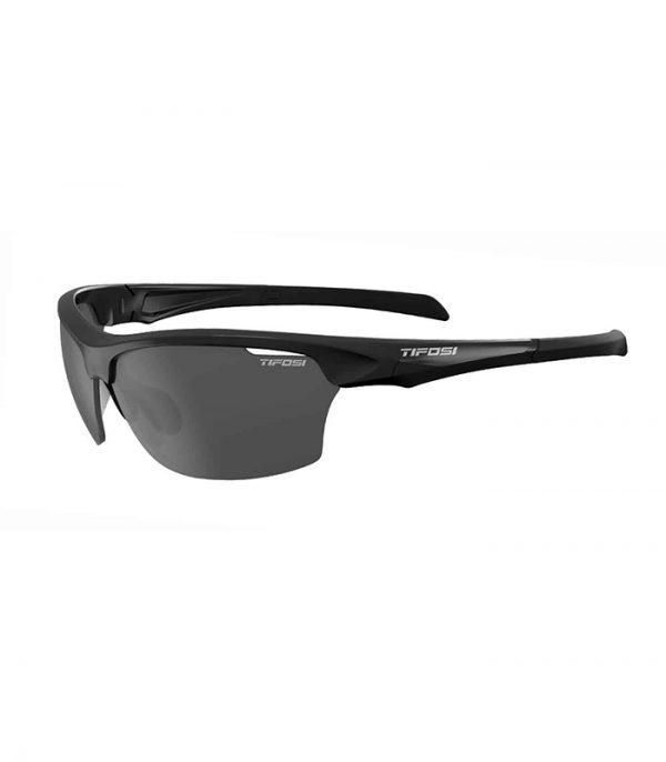 Αθλητικά Γυαλιά Ηλίου Tifosi Intense Gloss Black με Φακούς Smoke
