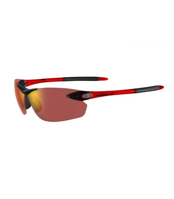 Αθλητικά Γυαλιά για Τρέξιμο & Ποδηλασία Tifosi Seek FC Crystal Red με Φακούς Smoke Red