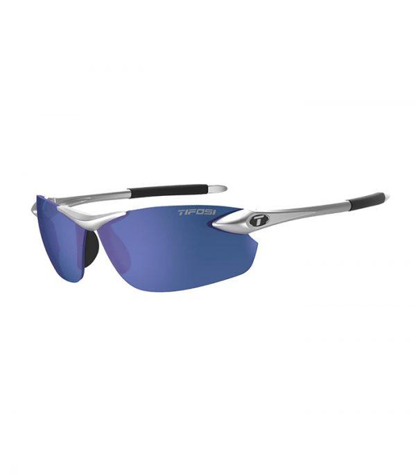 Αθλητικά Γυαλιά για Τρέξιμο & Ποδηλασία Tifosi Seek FC Metallic Silver με Φακούς Smoke Blue