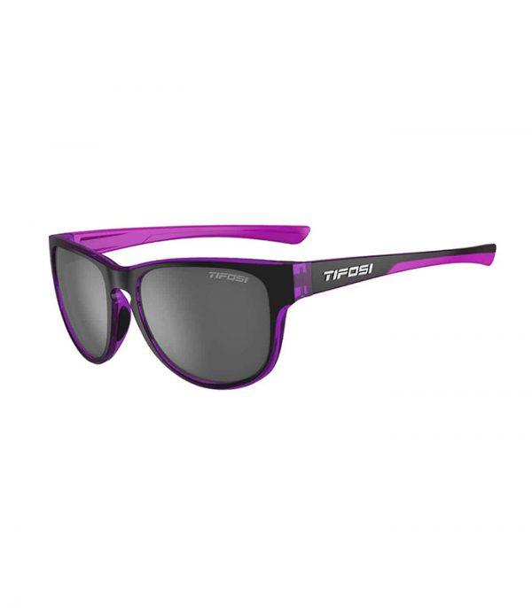 Αθλητικά Γυαλιά Ηλίου Tifosi Smoove Onyx / Ultra-Violet με Φακούς Smoke