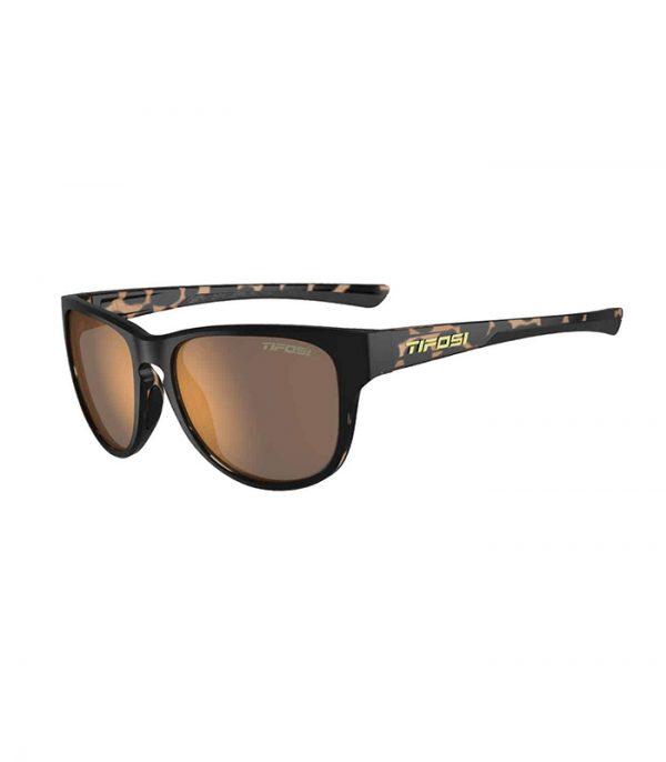 Αθλητικά Γυαλιά Ηλίου Tifosi Smoove Satin Black / Java Fade με Polarized Φακούς
