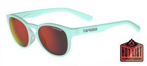 Αθλητικά Γυαλιά Ηλίου Tifosi Svago Satin Crystal Teal με Φακούς Smoke Red