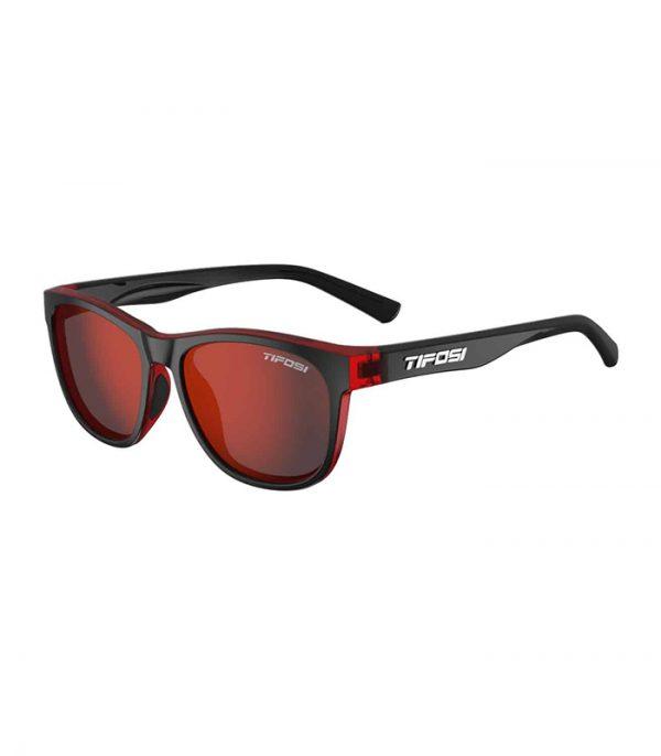 Αθλητικά Γυαλιά Ηλίου Tifosi Swank Crimson Onyx Smoke Red