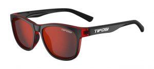 Αθλητικά Γυαλιά Ηλίου Tifosi Swank Crimson Onyx με Φακούς Smoke Red