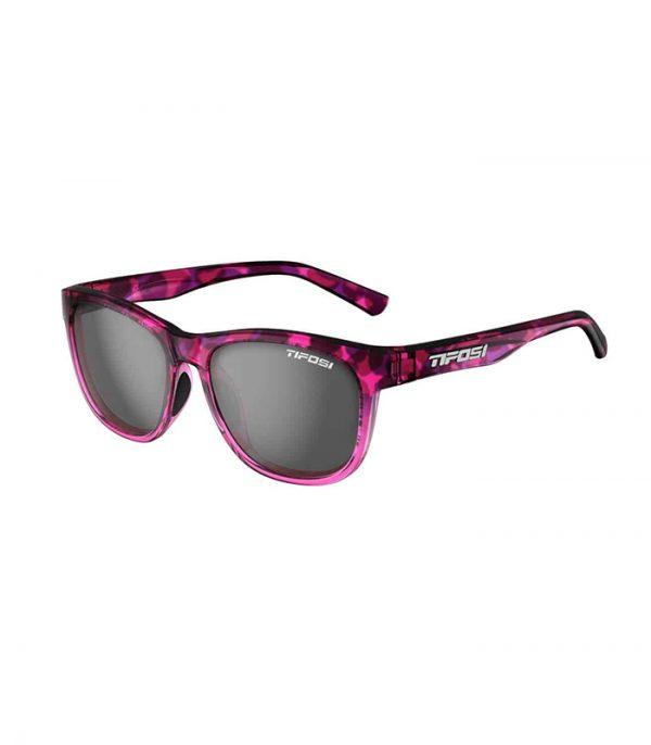 Αθλητικά Γυαλιά Ηλίου Tifosi Swank Pink Confetti με Φακούς Smoke