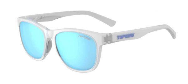 Αθλητικά Γυαλιά Ηλίου Tifosi Swank Satin Clear με Polarized Φακούς