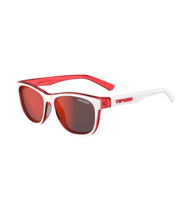 Γυαλιά πεζοπορίας Tifosi Swank Icicle Red Smoke Red