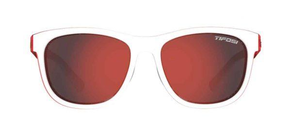 Γυαλιά πεζοπορίας Tifosi Swank Icicle Red Smoke Red φακοί