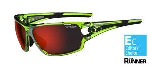 Αθλητικά Γυαλιά Ηλίου Tifosi Amok Crystal Neon Green με Τρεις Διαφορετικούς Φακούς