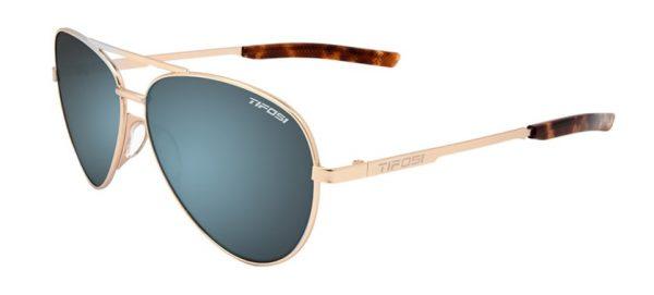 Αθλητικά Γυαλιά Ηλίου Tifosi Shwae Gold Aviators με Φακούς Smoke Bright Blue
