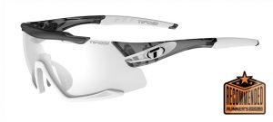 Αθλητικά Γυαλιά Ηλίου Ποδηλασίας & Τρεξίματος Tifosi Aethon Crystal Smoke White με Φωτοχρωμικούς Φακούς