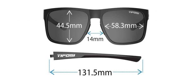 Αθλητικά Γυαλιά Ηλίου Tifosi Swick Brown Fade με Φακούς Brown