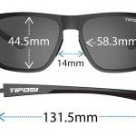 Αθλητικά Γυαλιά Ηλίου Tifosi Swick Satin Vapor με Φακούς Smoke