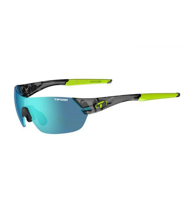 Γυαλιά Ηλίου για Ποδηλασία & Τρέξιμο Tifosi Slice Crystal Smoke με Τρεις Διαφορετικούς Φακούς