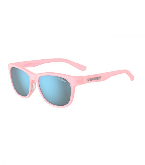 Αθλητικά Γυαλιά Ηλίου Tifosi Swank Satin Crystal Blush με Φακούς Smoke Bright Blue