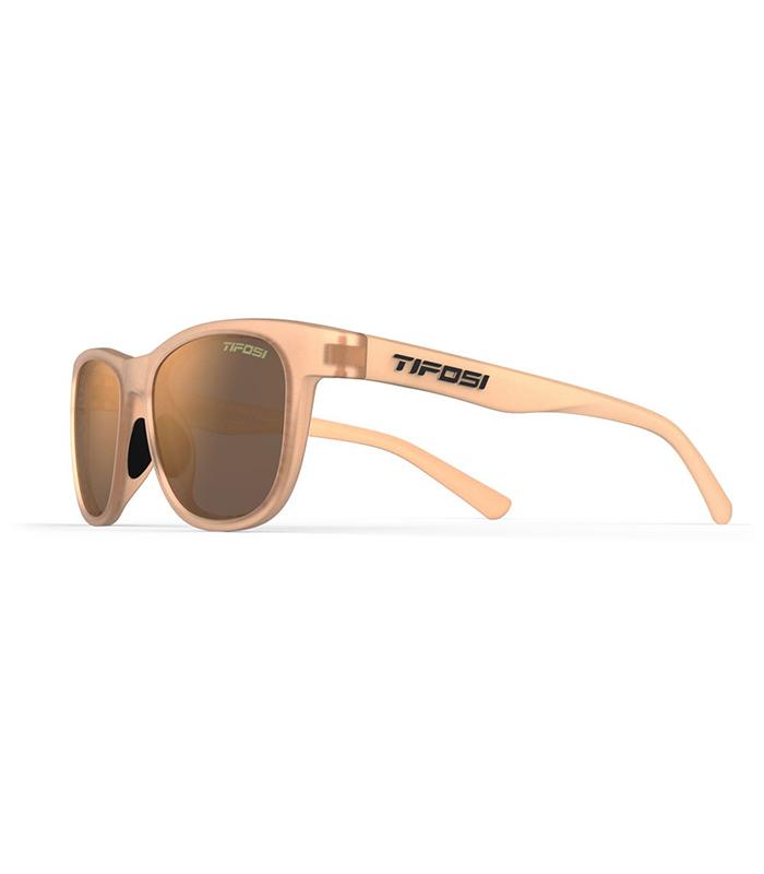 Γυαλιά lifestyle Tifosi Swank Satin Crystal Brown με Polarized Φακούς