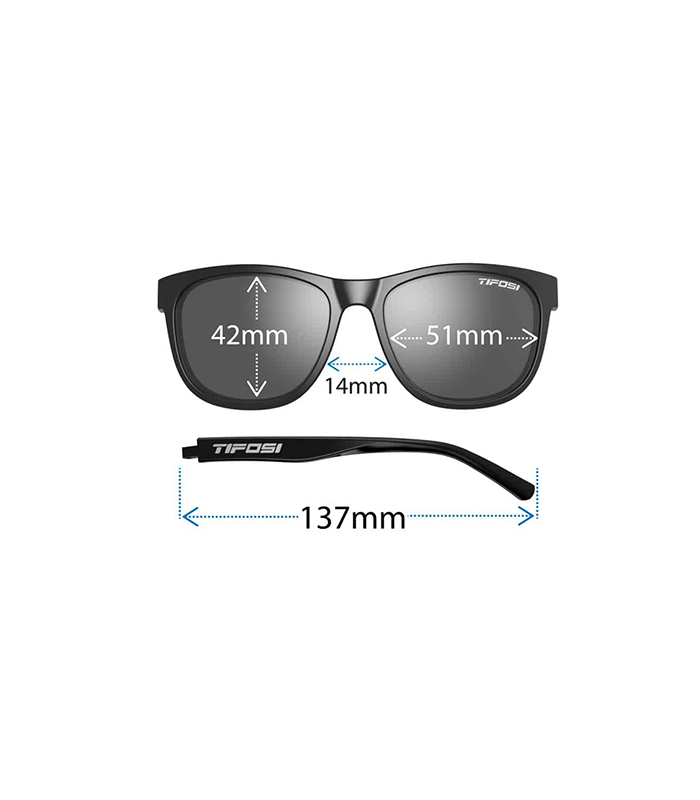 Αθλητικά Γυαλιά Ηλίου Tifosi Swank Satin Crystal Brown Brown Polarized (fit)