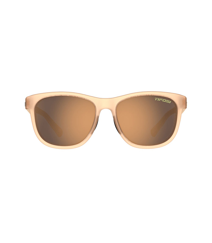 Αθλητικά Γυαλιά Ηλίου Tifosi Swank Satin Crystal Brown με Polarized Φακούς