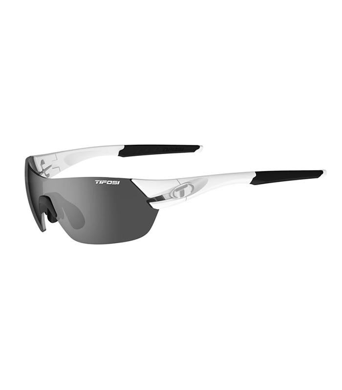 Γυαλιά Ηλίου για Ποδηλασία & Τρέξιμο Tifosi Slice Matte White με Τρεις Διαφορετικούς Φακούς
